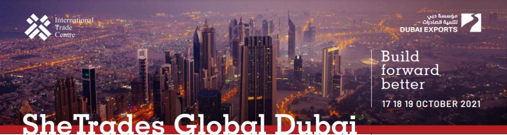 Banner SheTrades Global Dubai